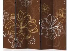 Paraván - Autumnal flora II [Room Dividers]